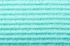 Background green fabric Stock Photography
