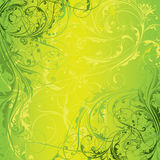 Background green floral design Royalty Free Stock Photo