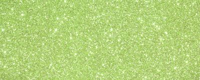 Background Green glittered with glittering lights and reflection Royalty Free Stock Photos