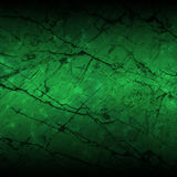 Background. Green background Like a broken old walls Stock Photography