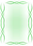 Background - green lines. Vector illustration - Green lines background Royalty Free Stock Photos