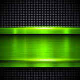 Background green metal Royalty Free Stock Image