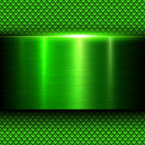 Background green metal texture Royalty Free Stock Images