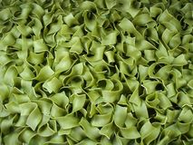 Background green noodles. A background made of green noodles Royalty Free Stock Photo