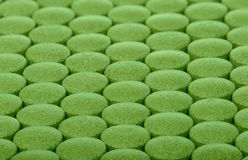 Background of green pills Royalty Free Stock Photo