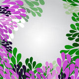 Background with green and pink pattern Stock Images