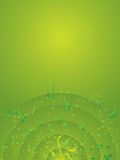 Background green radiate Royalty Free Stock Image