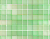 Background of green squares of different colors. Abstract background of squares of light green color. Fractal stock illustration