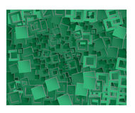Background green squares Royalty Free Stock Photo