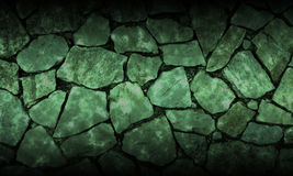 Background. Green stone A peaceful feeling Stock Images