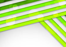 Background with green stripes. Abstract illustration Stock Photography
