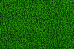 Background of green terry towels Stock Images