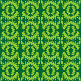 Symmetrical pattern of leaves Stock Images