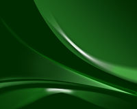 Background of green wave. Royalty Free Stock Image
