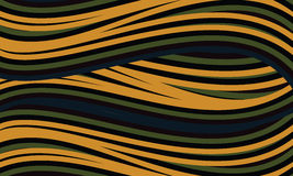 Background with green and yellow lines Royalty Free Stock Photos