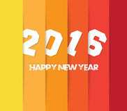 2016 background. greeting card. Happy new year 2016 background. greeting card Stock Images