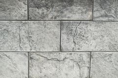 Background grey cement and concrete tiles, stone texture.  stock image