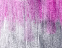 Background, grey and pink. Grey und pink watercolor wash background Stock Photo
