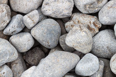 Background of grey smooth convex stones Royalty Free Stock Image