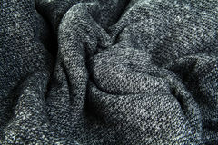 Background from a grey wool plaid Royalty Free Stock Photography