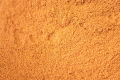 Background of ground cinnamon Royalty Free Stock Image