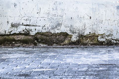 Background grunge exterior old dirty wall Stock Images