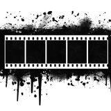 Background with Grunge Filmstrip. Background with Grunge white  Filmstrip Royalty Free Stock Photo