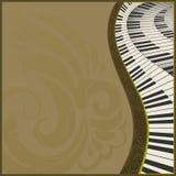 Background2h musical photographie stock libre de droits