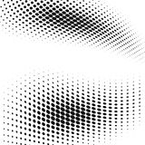 Background with halftone dots effect. Vector graphic Royalty Free Stock Image
