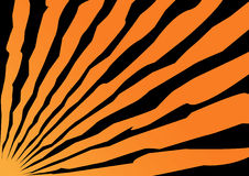 Background for a halloween. Orange background with black strips for a halloween holiday Stock Illustration