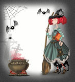 Background on Halloween Stock Images