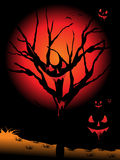 Background for halloween celebration. Abstract spooky background for halloween celebration royalty free illustration