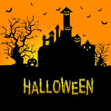 Background for Halloween Celebrations. Stock Photography