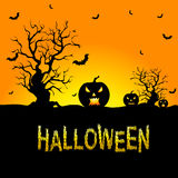 Background for Halloween Celebrations. Halloween Background Created in , Useful Background for Halloween Celebrations Stock Photo