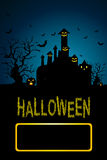 Background for Halloween Celebrations. Stock Image