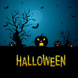 Background for Halloween Celebrations. Royalty Free Stock Photo
