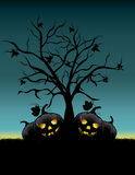 Background halloween night Royalty Free Stock Images