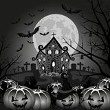 Background halloween pumpkin vector Royalty Free Stock Images
