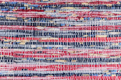 Background hand woven fabric Stock Photography