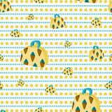 Background handbags. Handbags yellow background with ice cream Royalty Free Stock Image