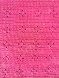 Handmade crochet texture background Stock Photos
