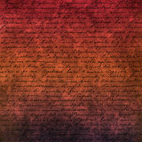 Background with the handwritten text Royalty Free Stock Photography