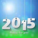 2015 background. 2015 happy new year background Royalty Free Stock Images