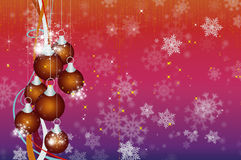 Background  Happy New Year and Merry Christmas Stock Image