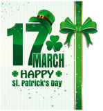 Background for Happy St. Patricks Day celebration. 17 March. Happy St. Patricks Day. Cute background for Happy St. Patricks Day celebration. 17 March. Happy St Royalty Free Stock Photos