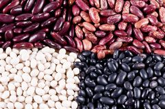 Background of haricot beans Royalty Free Stock Photography