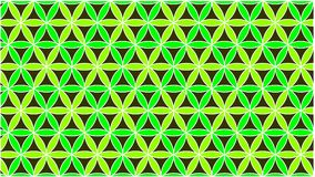 The background has colored circles in green and they are interlaced to form a beautiful shape. Background Consisting of interlocking circles and their shape vector illustration