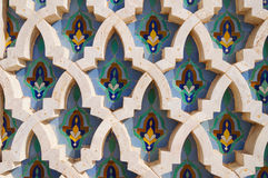 Background in Hassan II Mosque,Casablanca Royalty Free Stock Photos