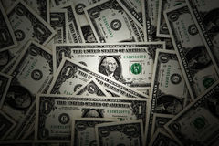 Background heap of dollars Stock Image