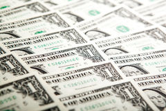 Background heap of dollars Stock Photos